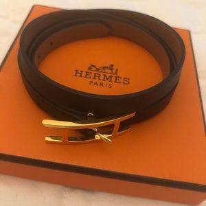 Behapi double tour bracelet Hermès